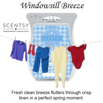 Windowsill Breeze Scentsy Wax Melt Bar