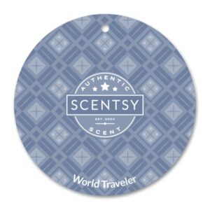 World Traveler Scentsy Scent Circle