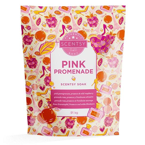 Pink Promenade Scentsy Soak