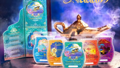 Scentsy Aladdin Wax Collection