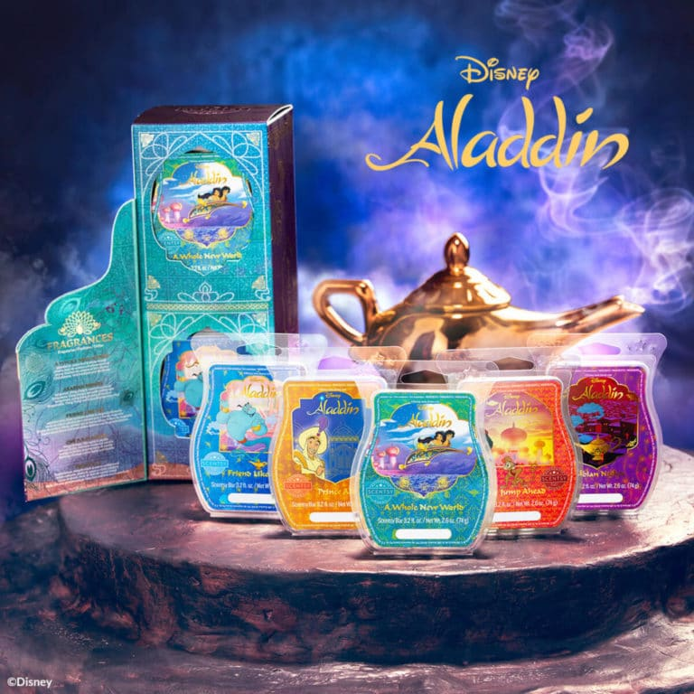 Aladdin Scentsy Wax Bar Collection Now Available
