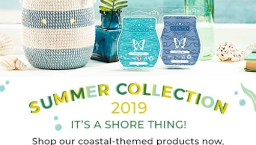 Scentsy Summer Collection 2019