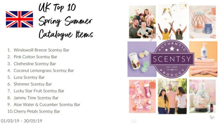 Top Selling Scentsy UK Items Spring Summer 2019