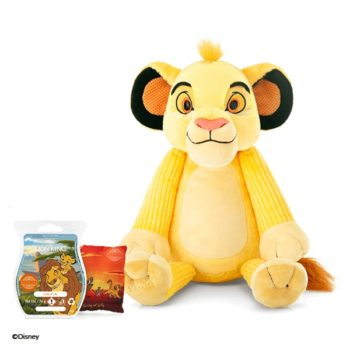 A bundle featuring the Simba - Scentsy Buddy (including his Scent Pak) and a Circle of Life Scentsy Bar