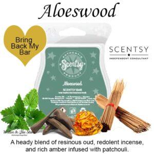 Aloeswood Scentsy Wax Bar