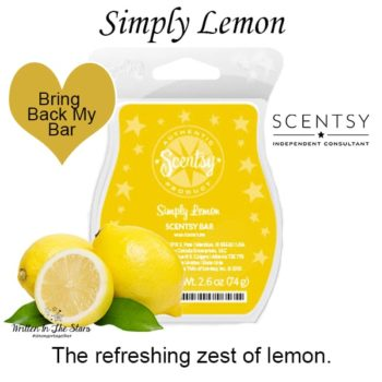 Simply Lemon Scentsy Wax Bar
