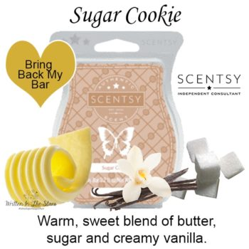 Sugar Cookie Scentsy Wax Bar