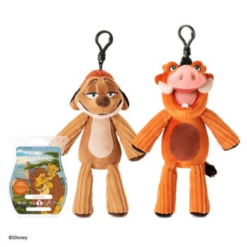 Timon and Pumbaa - Scentsy Buddy Clips and Circle of Life Bar Bundle