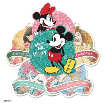 6 Licensed Scentsy Disney Scent Circles