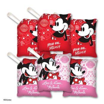 6 Licensed Scentsy Disney Scent Paks