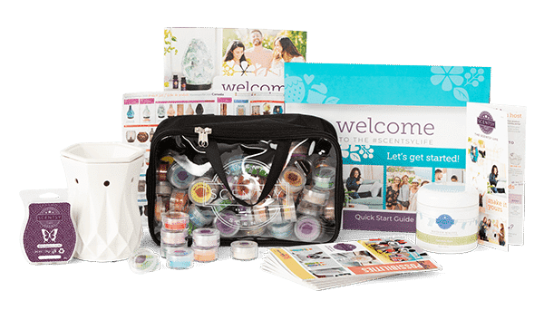 Scentsy Host Starter Kit Autumn Winter 2019.