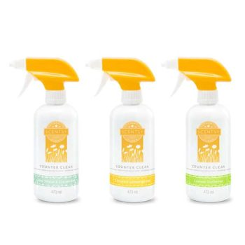 3 Scentsy Counter Cleaners
