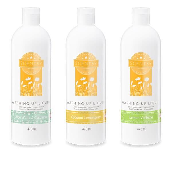 3 Scentsy Washing-Up Liquids