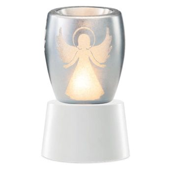 Angelic Scentsy Mini Warmer With Tabletop Base