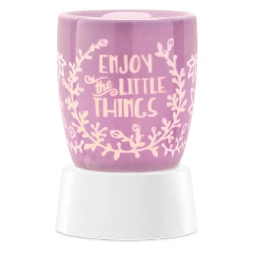 Enjoy the Little Things Mini Warmer with Tabletop Base