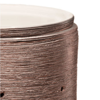 Etched Core - Rose Gold Warmer Corner