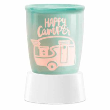 Happy Camper Mini Warmer with Tabletop Base