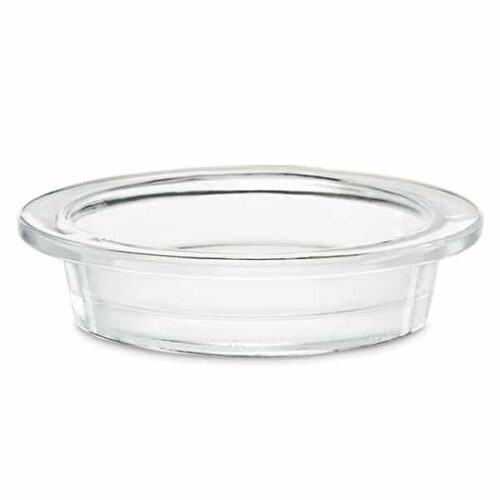 Large Clear Glass Dish