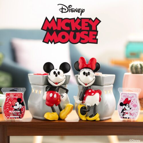 Mickey & Minie Mouse Scentsy Warmers
