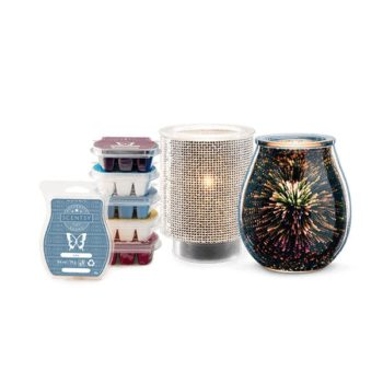 Perfect Scentsy - X2 £61 Warmers & 6 Bars