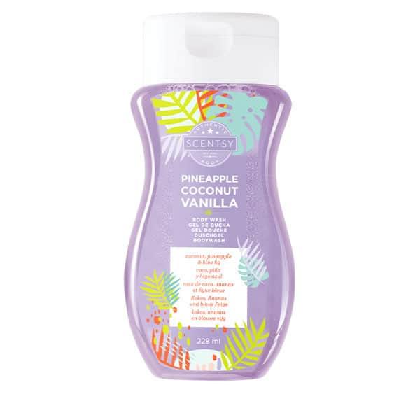 Pineapple Coconut Vanilla Body Wash