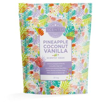 Pineapple Coconut Vanilla Scentsy Soak