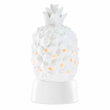 Queen Pineapple Mini Warmer with Tabletop Base