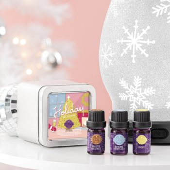 Scentsy Christmas Diffuser Oil Set