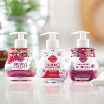 Scentsy Christmas Hand Soap Collection