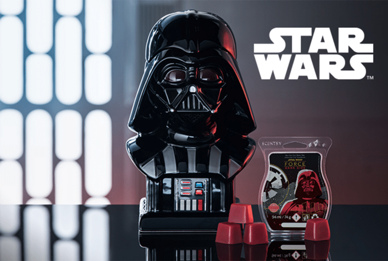Scentsy Darth Vader™. Warmer & Wax Bar Released Date 19th September 2019