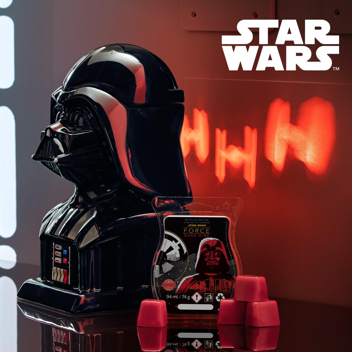 Scentsy Darth Vader Warmer & Wax Bar