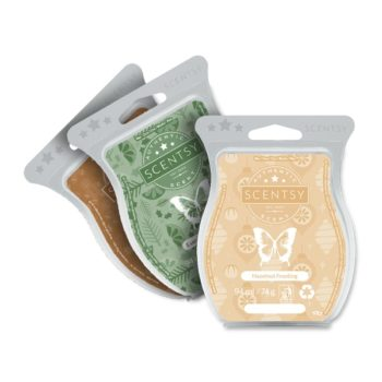 Scentsy Fireside Christmas 3 Bar Pack