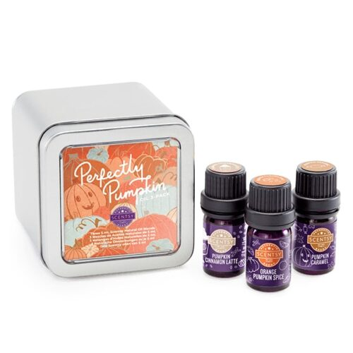 Scentsy Perfectly Pumpkin Oil 3-Pack