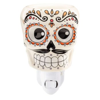 Sugar Skull Mini Warmer