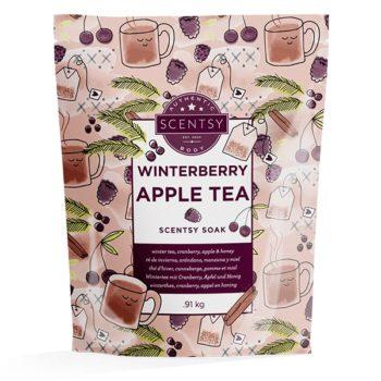 Winterberry Apple Tea Scentsy Soak