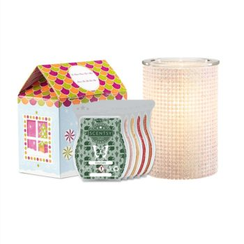 Black Friday Gift Bundle Offer - Mother Of Pearl Warmer + Cozy Wax Bar Collection