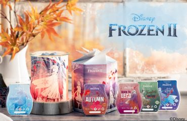 Disney Frozen 2 Scentsy Warmer & Wax Collection