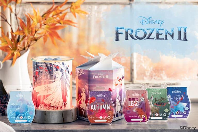 Disney Frozen 2 Scentsy Warmer & Wax Collection