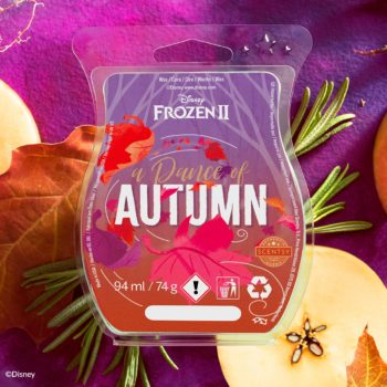 A Dance of Autumn Scentsy Bar - Frozen 2
