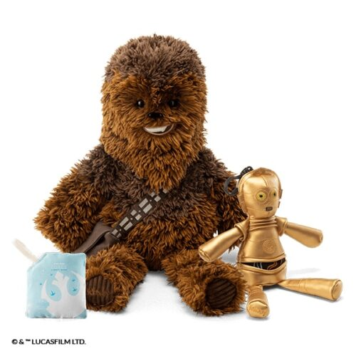 Chewbacca™ – Scentsy Buddy + C-3PO™ – Buddy Clip + Star Wars™: Light Side of the Force – Scent Pak