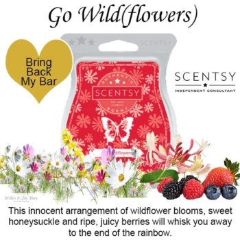 Go Wild Flowers Scentys Bar