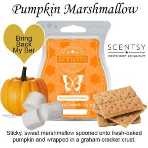Pumpkin Marshmallow Scentsy Bar