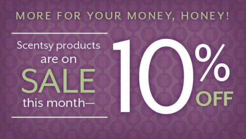 Scentsy 10 Percent Off Sale