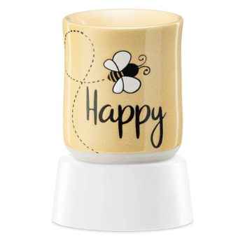 Bee Happy Mini Warmer with Tabletop Base