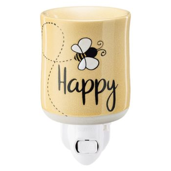 Bee Happy Mini Warmer with Wall Plug