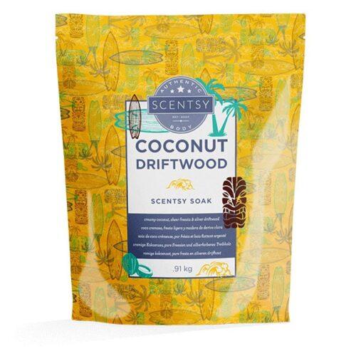 Coconut Driftwood Scentsy Soak