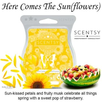 Here Comes The Sun(flowers) Scentsy Wax Melt