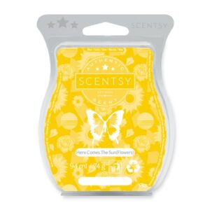 Here Comes the Sun (flowers) Scentsy Bar