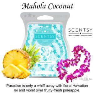 Mahola Coconut Scentsy Bar