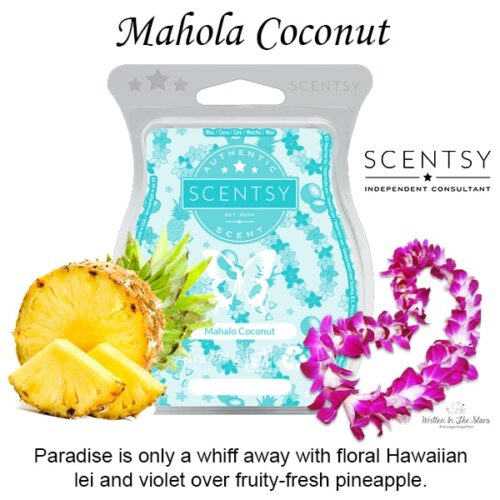 Mahola Coconut Scentsy Bar